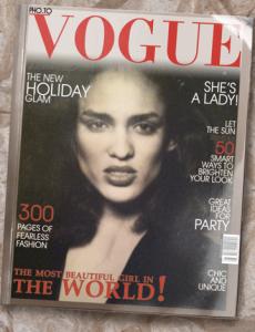 Sandra 1987 Vogue